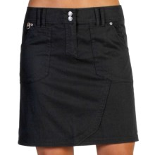 ExOfficio Gazella Skirt - UPF 30+ (For Women) in Black - Closeouts