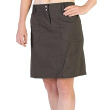 ExOfficio Gazella Skirt - UPF 30+ (For Women) in Dark Pebble - Closeouts