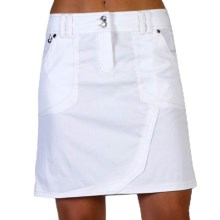 ExOfficio Gazella Skirt - UPF 30+ (For Women) in White - Closeouts