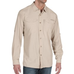 ExOfficio Geotrek'r Field Shirt - UPF 30+, Long Sleeve (For Men) in White