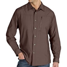 ExOfficio GeoTrek'r Shirt - UPF 30+ (For Men) in Graphite - Closeouts