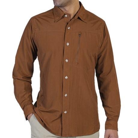 ExOfficio GeoTrek'r Shirt - UPF 30+ (For Men) in Henna