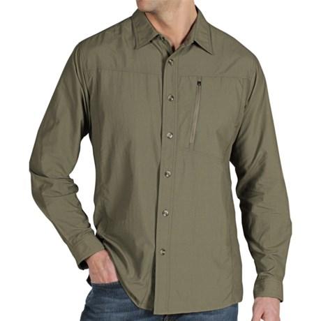 ExOfficio GeoTrek'r Shirt - UPF 30+ (For Men) in Sage
