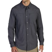 ExOfficio Geotrek'r Shirt - UPF 30+, Long Sleeve (For Men) in Dark Pebble - Closeouts