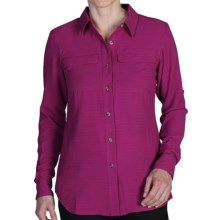 ExOfficio Gill Shirt - UPF 20+, Long Sleeve (For Women) in Dazzle - Closeouts