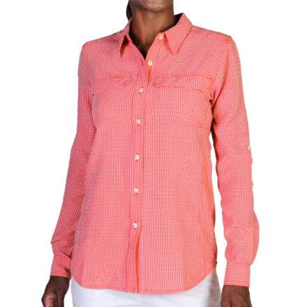 ExOfficio Gill Shirt - UPF 20+, Long Sleeve (For Women) in Grenadine Check - Closeouts