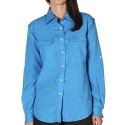 ExOfficio Gill Shirt - UPF 20+, Long Sleeve (For Women) in Mediterranean