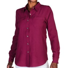 ExOfficio Gill Shirt - UPF 20+, Long Sleeve (For Women) in Mod - Closeouts