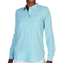 ExOfficio Gill Shirt - UPF 20+, Long Sleeve (For Women) in Tropez - Closeouts