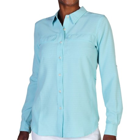 ExOfficio Gill Shirt UPF 20+, Long Sleeve (For Women)