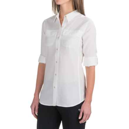 ExOfficio Gill Shirt - UPF 20+, Long Sleeve (For Women) in White - Closeouts