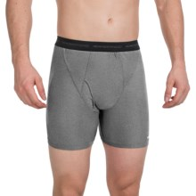 ExOfficio Give-N-Go® Boxer Briefs (For Men) in Charcoal Heather - Closeouts