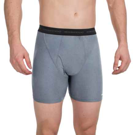 ExOfficio Give-N-Go® Boxer Briefs (For Men) in Midnight Heather - Closeouts