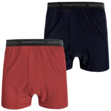 ExOfficio Give-N-Go® Boxer Shorts - 2-Pack (For Men) in Curfew/Stop - Closeouts