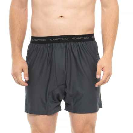 ExOfficio Give-N-Go Boxers (For Men) in Carbon
