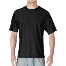 ExOfficio Give-N-Go® Crew Neck Base Layer Top - Short Sleeve (For Men) in Black - Closeouts
