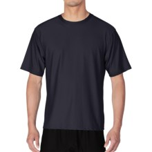 ExOfficio Give-N-Go® Crew Neck Base Layer Top - Short Sleeve (For Men) in Curfew - Closeouts