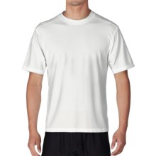 ExOfficio Give-N-Go® Crew Neck Base Layer Top - Short Sleeve (For Men) in White - Closeouts