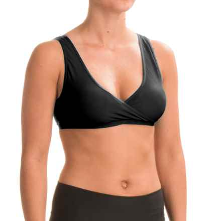 ExOfficio Give-N-Go Crossover Bra (For Women) in Black - Closeouts
