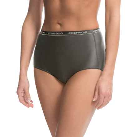 ExOfficio Give-N-Go® Full Cut Briefs - Panties (For Women) in Black - 2nds