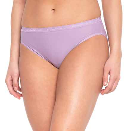 ExOfficio Give-N-Go® Hi-Cut Panties - Briefs (For Women) in Lupine - Closeouts