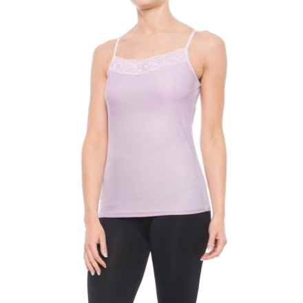 ExOfficio Give-N-Go® Lacy Camisole - Built-in Shelf Bra (For Women) in Light Grape - Closeouts