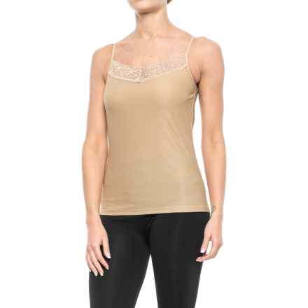 ExOfficio Give-N-Go® Lacy Camisole - Built-in Shelf Bra (For Women) in Nude - Closeouts