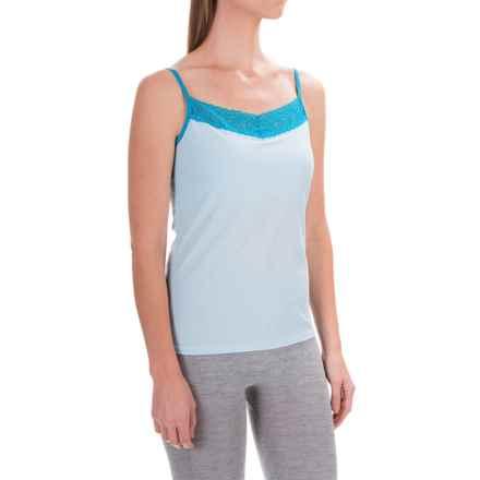ExOfficio Give-N-Go® Lacy Camisole - Built-In Shelf Bra (For Women) in Splash - Closeouts