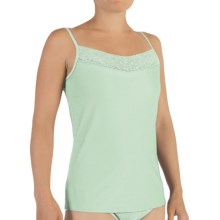 ExOfficio Give-N-Go Lacy Camisole - Shelf Bra (For Women) in Mint - Closeouts