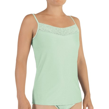 ExOfficio Give-N-Go Lacy Camisole - Shelf Bra (For Women) in Mint