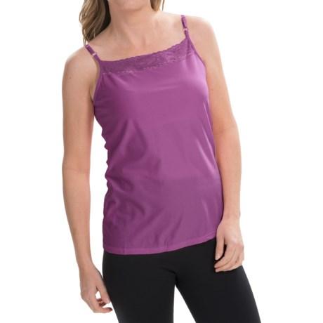 ExOfficio Give-N-Go Lacy Camisole - Shelf Bra (For Women) in Raspberry