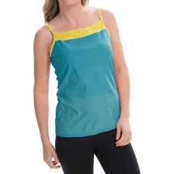 ExOfficio Give-N-Go® Lacy Camisole - Shelf Bra (For Women) in Volt