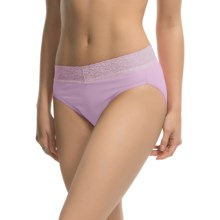 ExOfficio Give-N-Go Lacy Panties - Bikini Briefs (For Women) in Light Grape - Closeouts