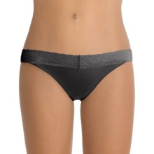 ExOfficio Give-N-Go® Lacy Panties - Bikini Briefs, Low-Rise (For Women) in Black - Closeouts