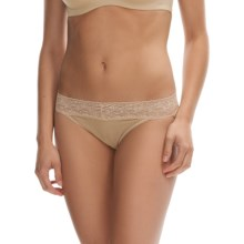 ExOfficio Give-N-Go® Lacy Panties - Bikini Briefs, Low-Rise (For Women) in Nude - Closeouts