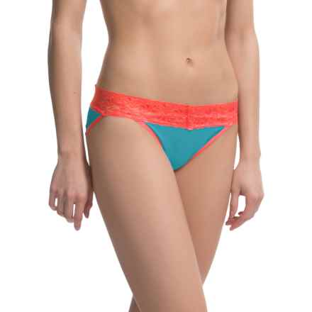 ExOfficio Give-N-Go® Lacy Panties - Bikini, Low Rise (For Women) in Electra - Closeouts