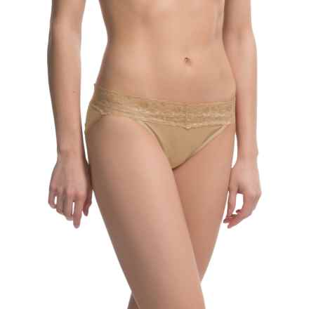 ExOfficio Give-N-Go® Lacy Panties - Bikini, Low Rise (For Women) in Nude - Closeouts
