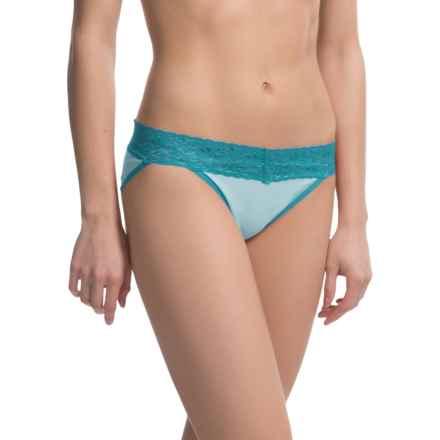 ExOfficio Give-N-Go® Lacy Panties - Bikini, Low Rise (For Women) in Splash - Closeouts