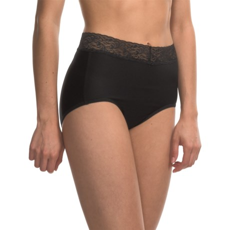 ExOfficio Give-N-Go® Lacy Panties - Full-Cut Briefs (For Women) in Black