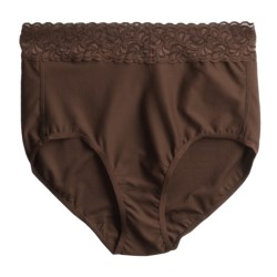 ExOfficio Give-N-Go Lacy Panties - Full-Cut Briefs (For Women) in Chocolate