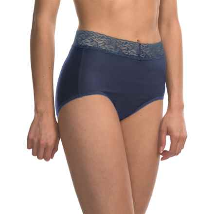 ExOfficio Give-N-Go® Lacy Panties - Full-Cut Briefs (For Women) in Indigo - Closeouts