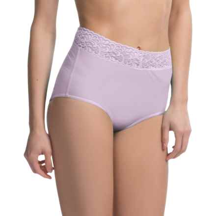 ExOfficio Give-N-Go® Lacy Panties - Full-Cut Briefs (For Women) in Light Grape - Closeouts