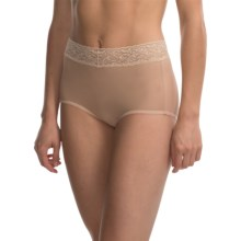 ExOfficio Give-N-Go® Lacy Panties - Full-Cut Briefs (For Women) in Nude - Closeouts