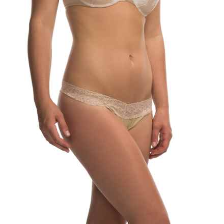 ExOfficio Give-N-Go Lacy Panties - Thong (For Women) in Nude - Closeouts