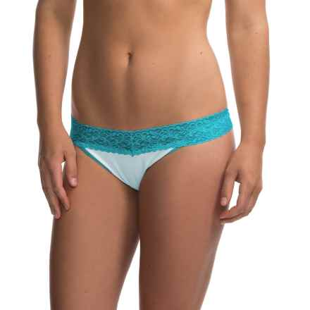 ExOfficio Give-N-Go Lacy Panties - Thong (For Women) in Splash - Closeouts