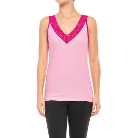 ExOfficio Give-N-Go® Lacy Tank Top (For Women) in Blush - Closeouts
