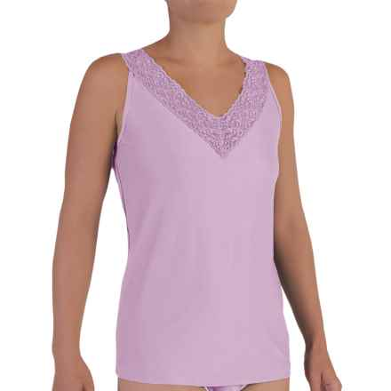 ExOfficio Give-N-Go® Lacy Tank Top (For Women) in Light Grape - Closeouts