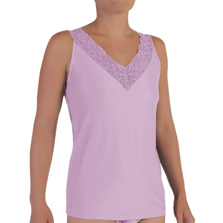 ExOfficio Give-N-Go® Lacy Tank Top (For Women) in Light Grape