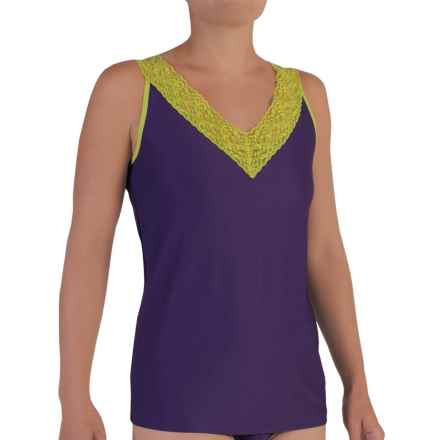 ExOfficio Give-N-Go® Lacy Tank Top (For Women) in Wisteria - Closeouts