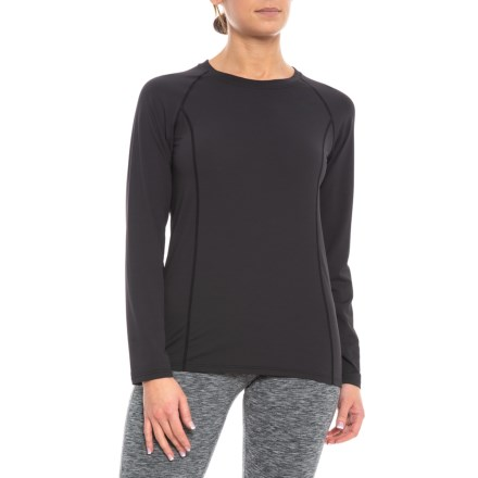 bd2d5dae1b19 ExOfficio Give-N-Go Performance Base Layer Top (For Women) in Black